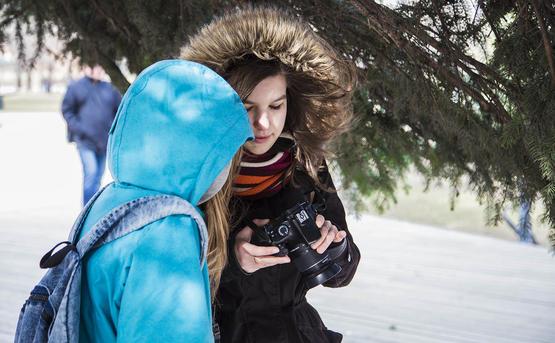 Курсы фотографии для подростков (детей 12-16 лет) в Москве