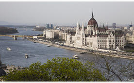Будапешт, вид на парламент