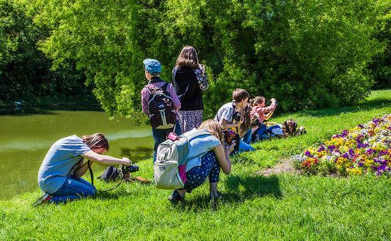 Летний курс фотографии для подростков в Пензе