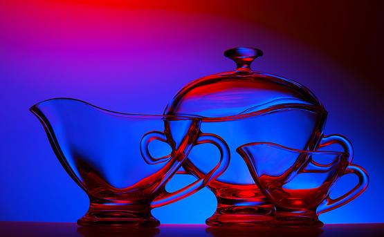 Художественная фотосъемка изделий из стекла